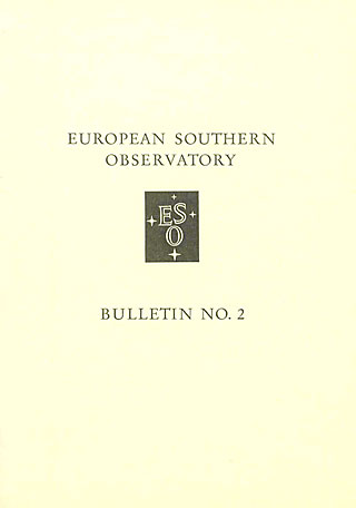 Bulletin 02 - European Southern Observatory