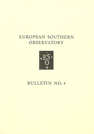Bulletin 04 - European Southern Observatory