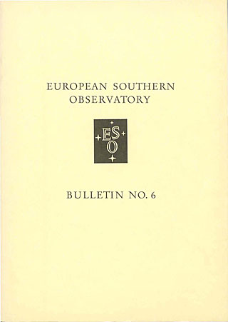 Bulletin 06 - European Southern Observatory