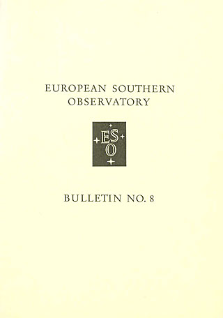 Bulletin 08 - European Southern Observatory