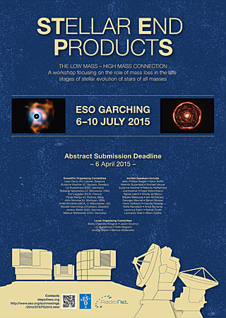 Poster: Stellar End Products Workshop
