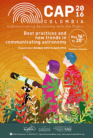 Communicating Astronomy with the Public 2016 (CAP2016) Conference Poster