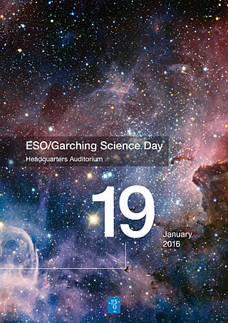 Poster: ESO/Garching Science Day 2016