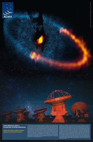 ALMA Reveals How a Planetary System Operates