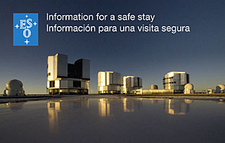 Paranal Map and Safety Flyer