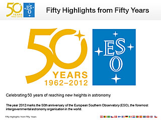 ESO50: Fifty highlights from fifty years