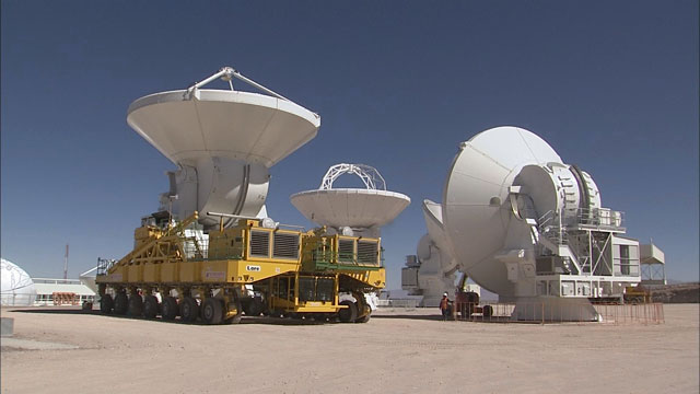 Relocation of an ALMA AEM antenna to the OSF (part 19)
