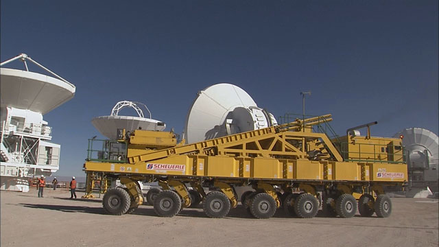 Relocation of an ALMA AEM antenna to the OSF (part 9)