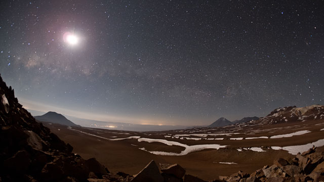 The Chajnantor Plateau (time-lapse)
