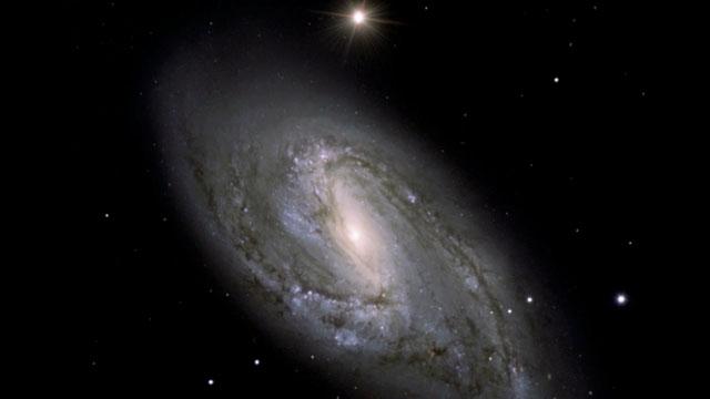 The spiral galaxy Messier 66
