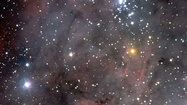 Pan over the Carina Nebula